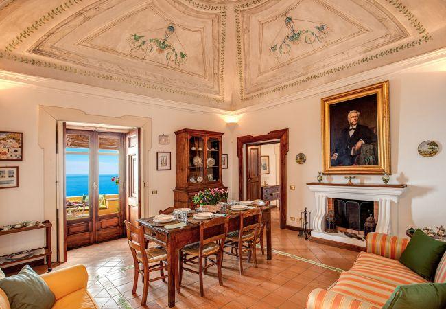 Villa a Positano - Casa Marina. Positano Historical Artists Retreat