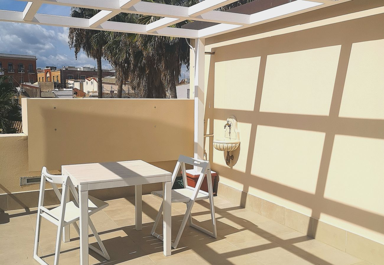 Apartment in Syracuse - Casa Ines design apt and terrace sea view, by Dimore in Sicily
