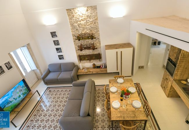 Apartment in Siracusa -  Dione design apartments, two bedrooms and terrace, by Dimore in Sicily