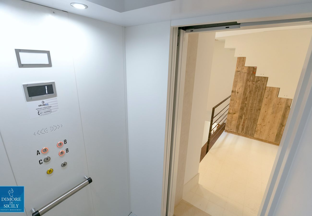 Apartment in Syracuse -  Dione design apartments, two bedrooms and terrace, by Dimore in Sicily