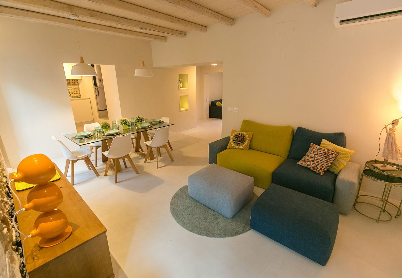 Apartment in Syracuse -  Veronique apartments, two terrace, by Dimore in Sicily